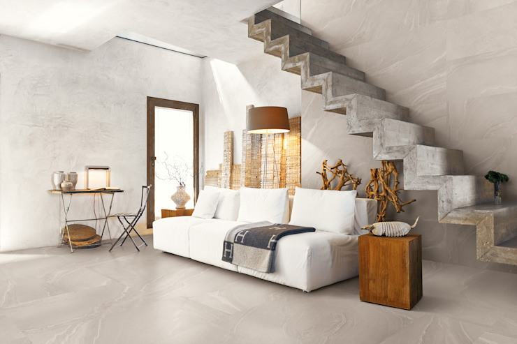 Zerodesign Asian Grey 45x90 Amb Scale by Emilceramica Group