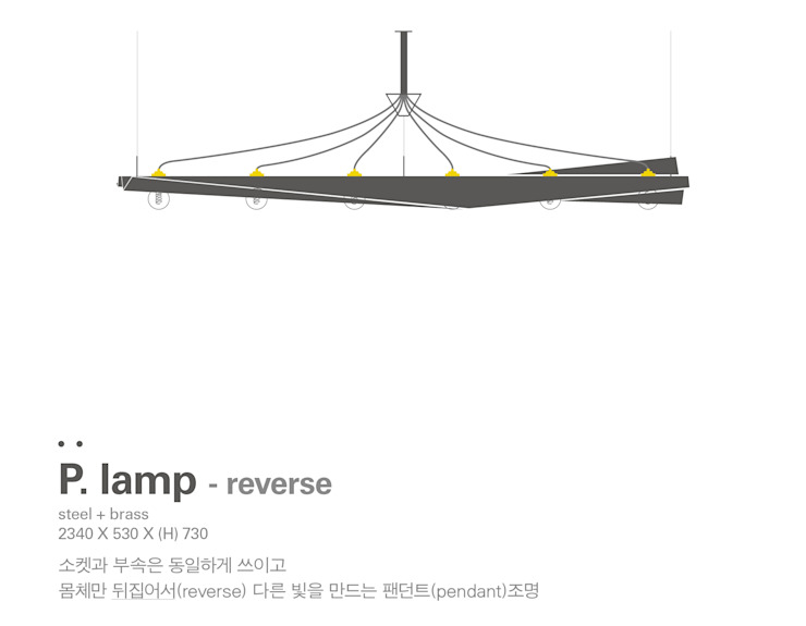 MP P.lamp – reverse by Metal Play