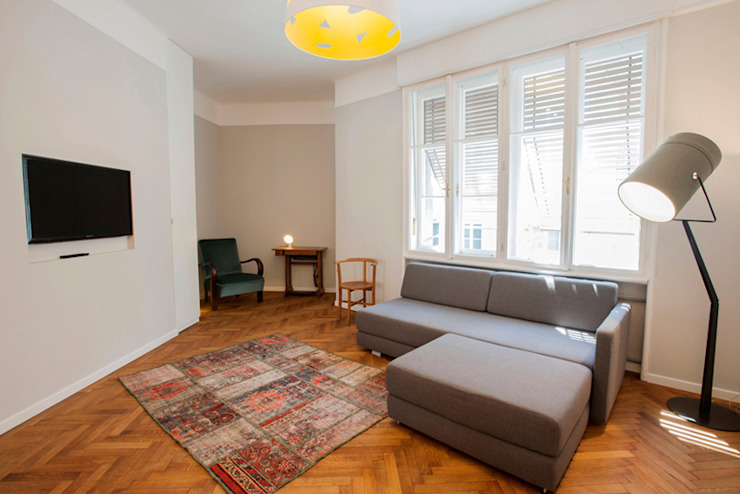 living room INpuls interior design & architecture Salon moderne