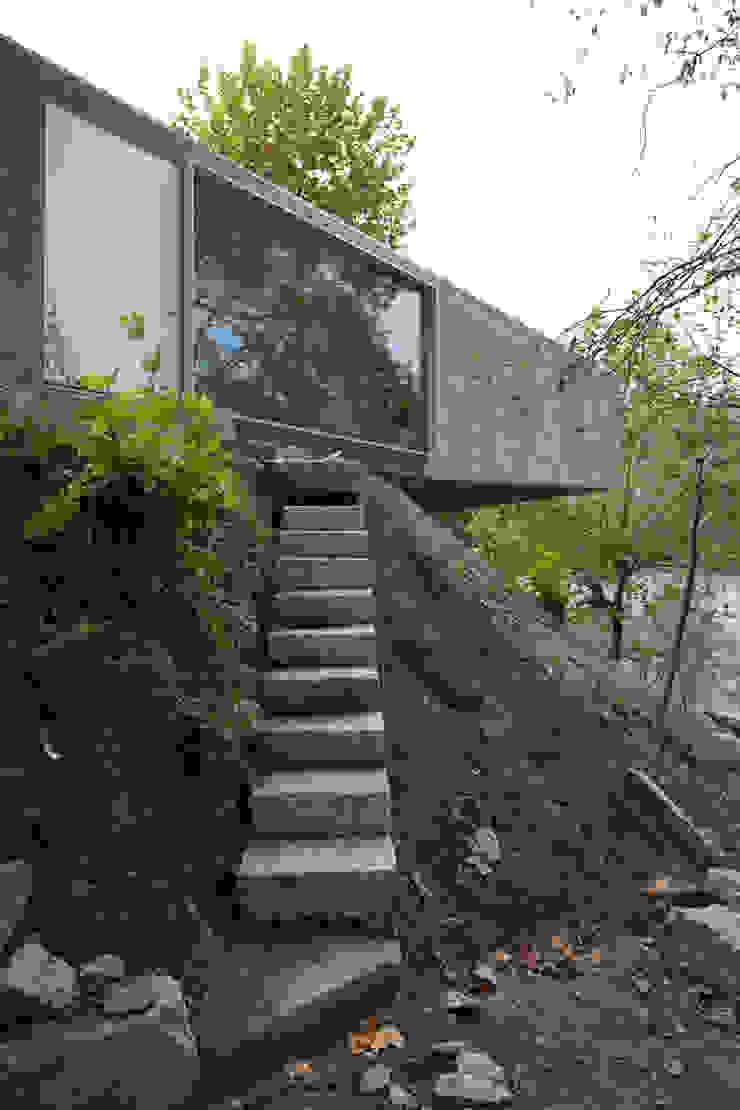 Casa no Gerês Casas modernas por CORREIA/RAGAZZI ARQUITECTOS Moderno