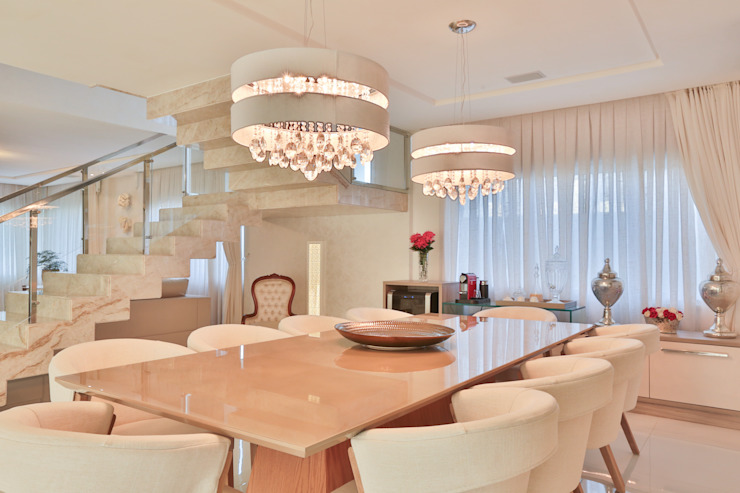 Modern dining room by Rita Albuquerque Arquitetura e Interiores Modern