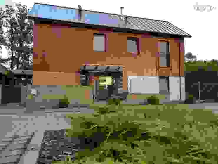 Projekt Koninko Skandynawskie domy od kabeDesign kasia białobłocka Skandynawski