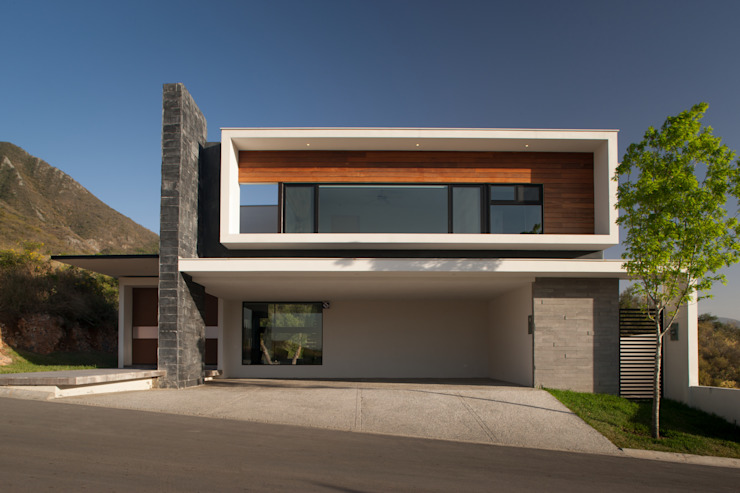 JT/Fachada principal Casas modernas de URBN Moderno