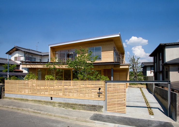 Houses by 松下建築設計 一級建築士事務所/Matsushita Architects, Eclectic