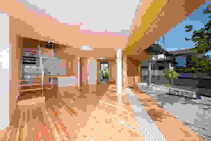 居間 松下建築設計 一級建築士事務所/Matsushita Architects オリジナルデザインの リビング