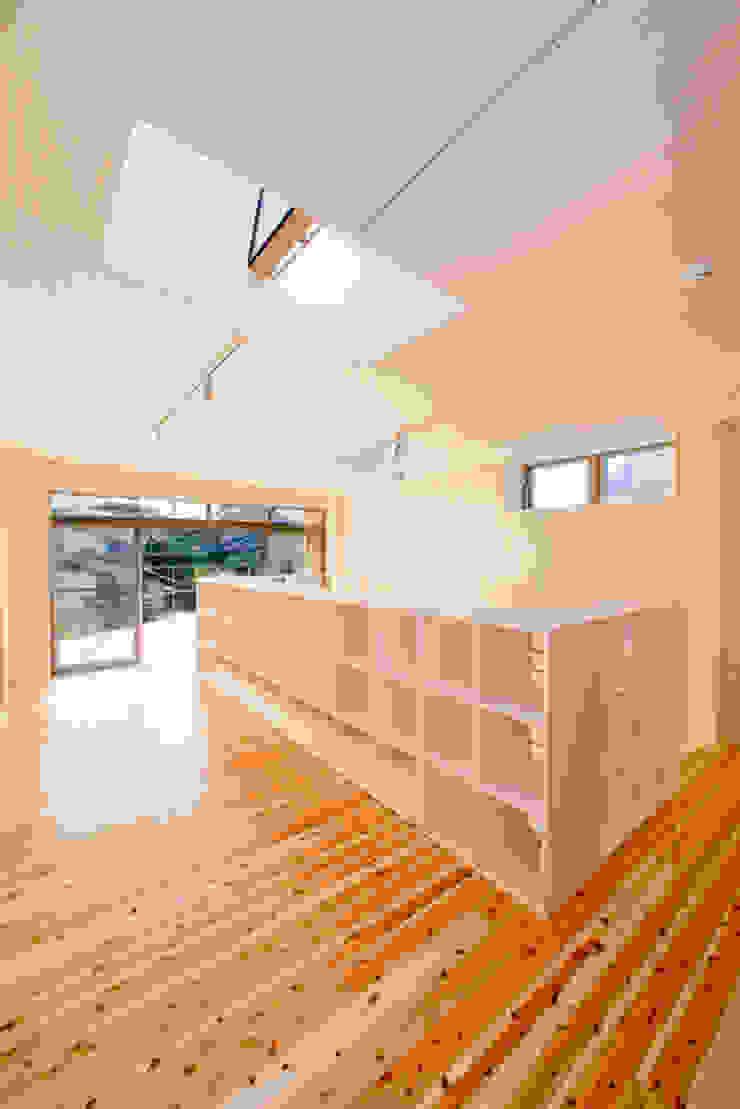 2階子供リビング オリジナルデザインの 多目的室 の 松下建築設計 一級建築士事務所/Matsushita Architects オリジナル
