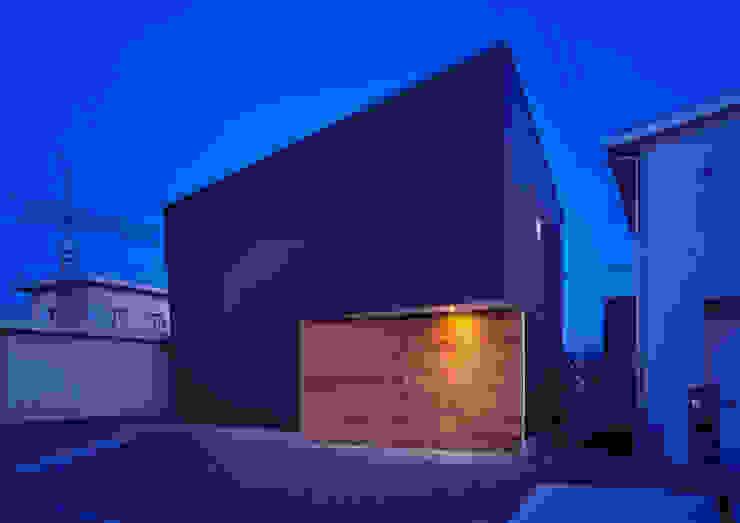 トンガリ壁の家 オリジナルスタイルの お風呂 の C lab.タカセモトヒデ建築設計 オリジナル