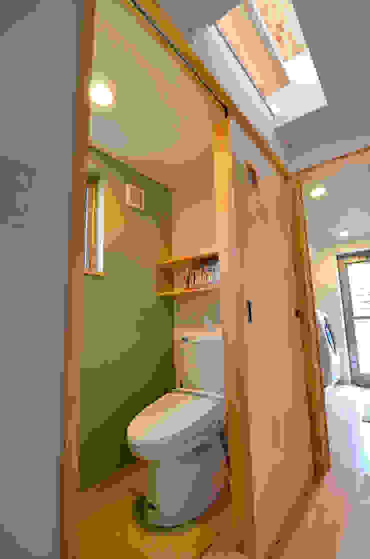 世羅の家 モダンスタイルの お風呂 の 宮崎環境建築設計 モダン
