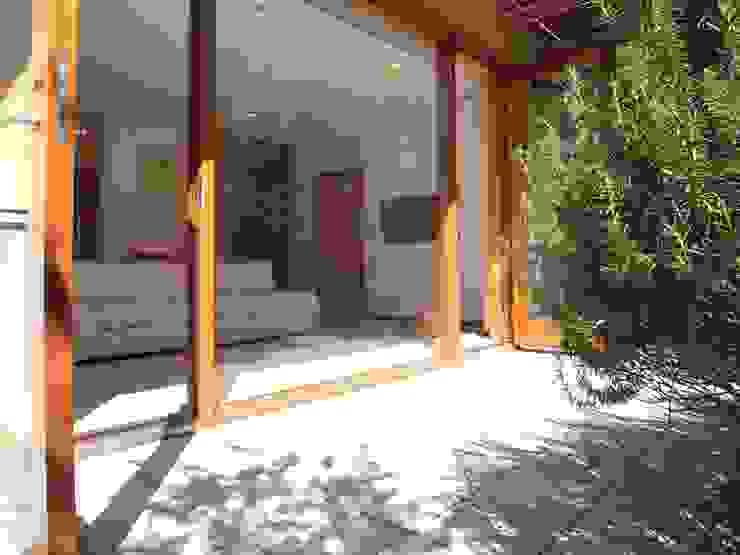 F-tei モダンな庭 の 由宇設計一級建築士事務所 モダン