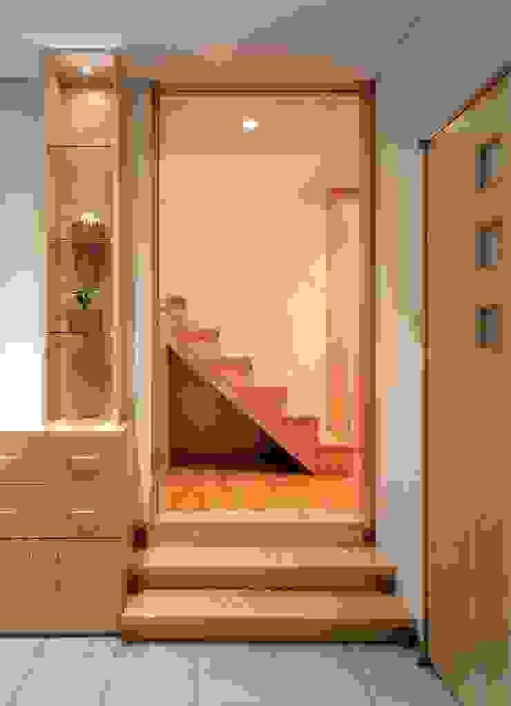 F-tei モダンデザインの リビング の 由宇設計一級建築士事務所 モダン