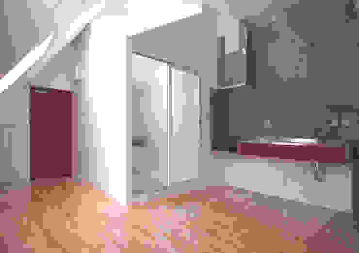 緑の環境と住宅 モダンデザインの ダイニング の ユミラ建築設計室 モダン
