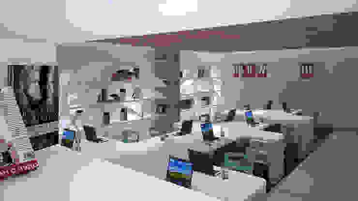Project Hunter  – 3dartist:  tarz Ofis Alanları & Mağazalar,