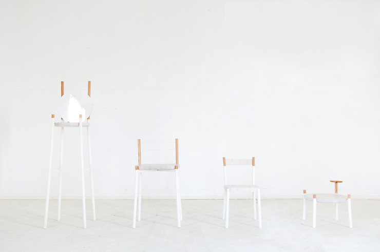 TRANS FUR: Kairi Eguchi Designが手掛けた現代のです。,モダン