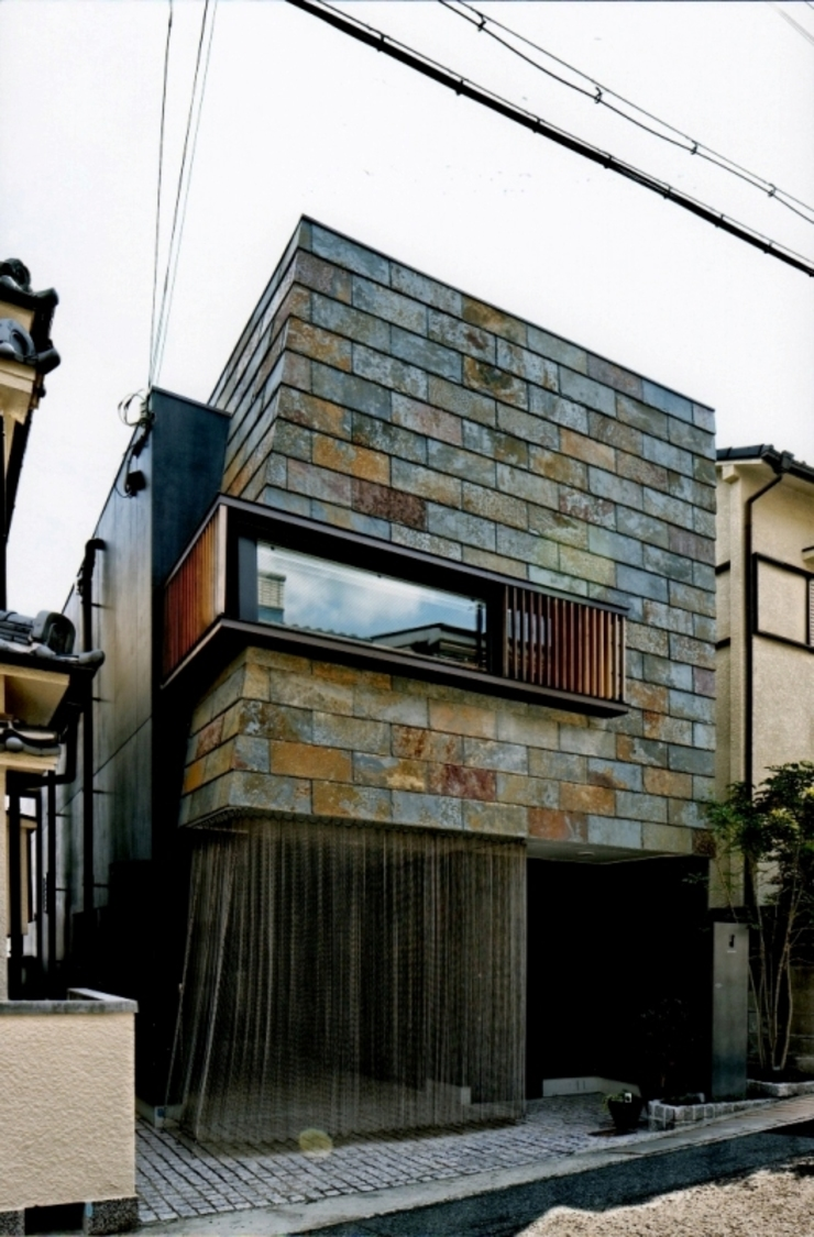Eclectic style houses by eu建築設計 Eclectic
