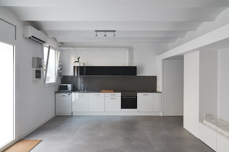 Cocina homify Cocinas de estilo minimalista
