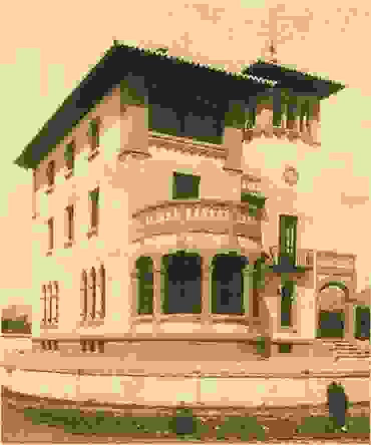 """""""Casa Sánchez"""", hacia 1940 Hoteles de estilo clásico de ARQUIGESTIÓN ARAGÓN S.L.P. Clásico"""