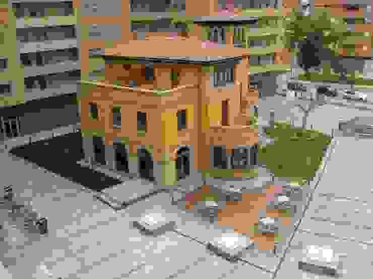 """Rehabilitación de """"Casa Sánchez"""" para Hotel de cuatro estrellas Hoteles de estilo clásico de ARQUIGESTIÓN ARAGÓN S.L.P. Clásico"""