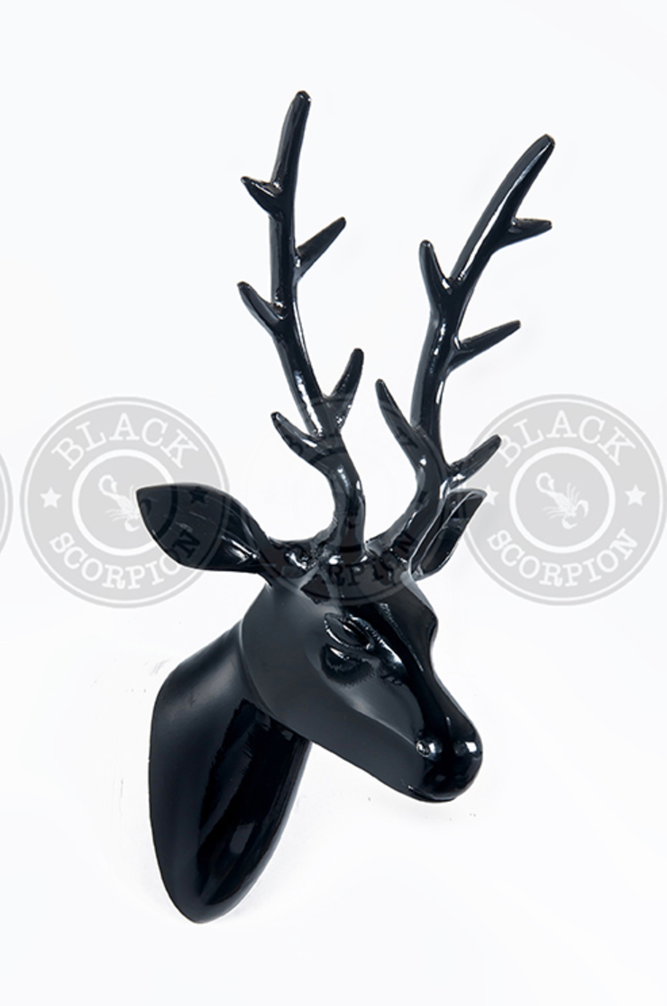 Animal Heads: country  by Black Scorpion Home Decor, Country