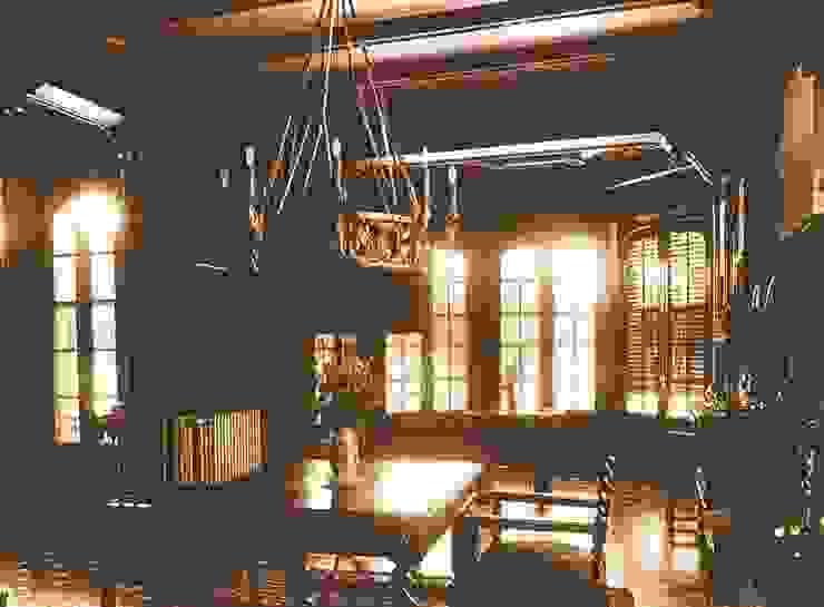 Interior en 1940. Salón Hoteles de estilo clásico de ARQUIGESTIÓN ARAGÓN S.L.P. Clásico