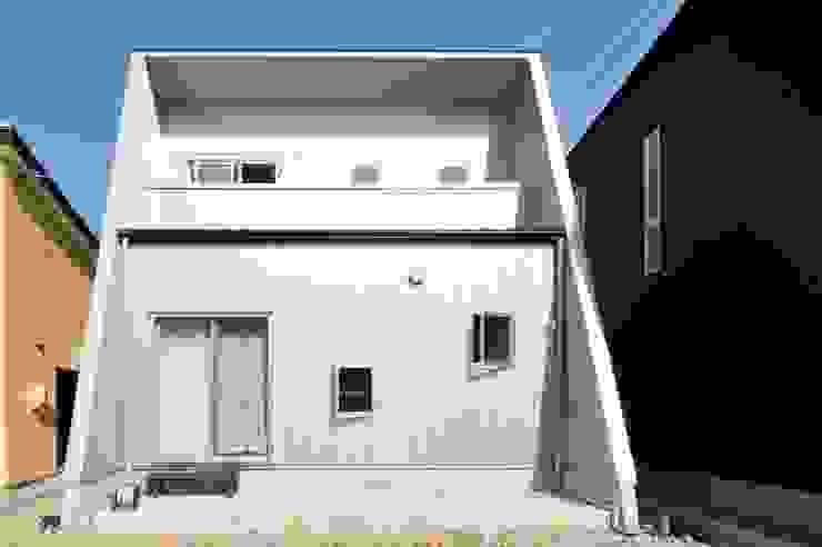 外観1 モダンな 家 の スクエア建築スタジオ モダン