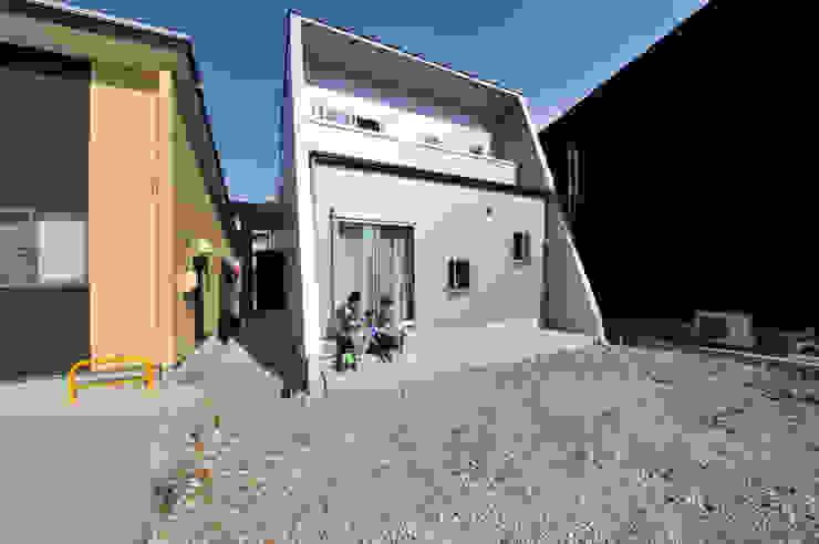 外観2 モダンな 家 の スクエア建築スタジオ モダン
