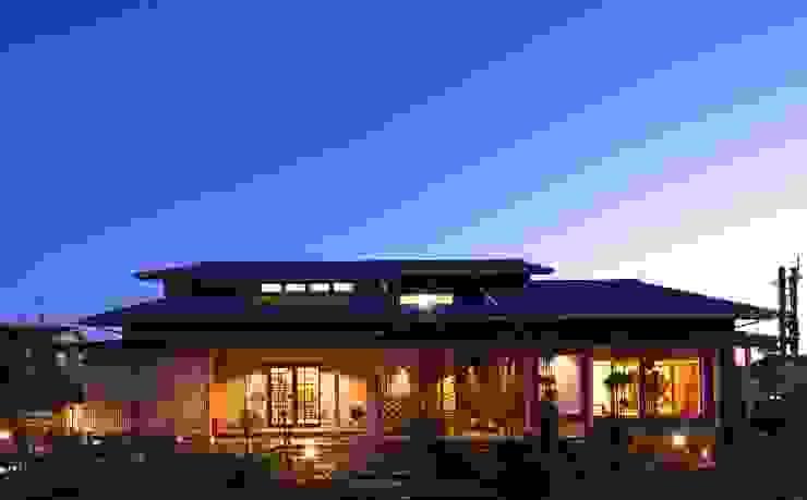 現代房屋設計點子、靈感 & 圖片 根據 やまぐち建築設計室 現代風