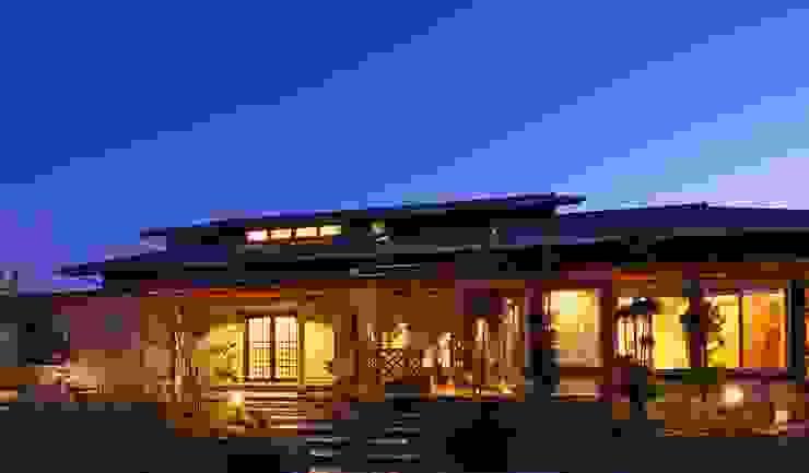 もてなしの家・和のエスプリを継ぐ家 モダンな 家 の やまぐち建築設計室 モダン