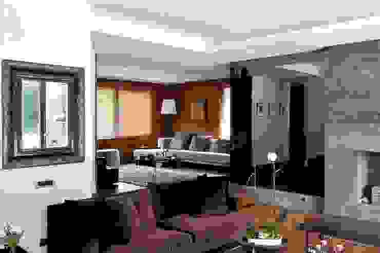 living room Modern Oturma Odası Esra Kazmirci Mimarlik Modern