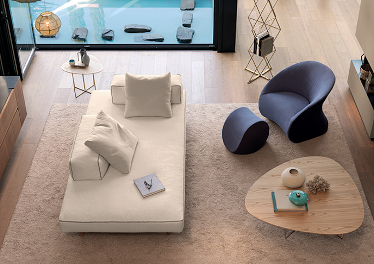 DABLIU COFFEE TABLE Setsu & Shinobu Ito Living roomSide tables & trays