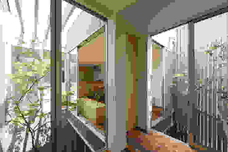 鳳の家 House in Otori: arbolが手掛けた庭です。,モダン