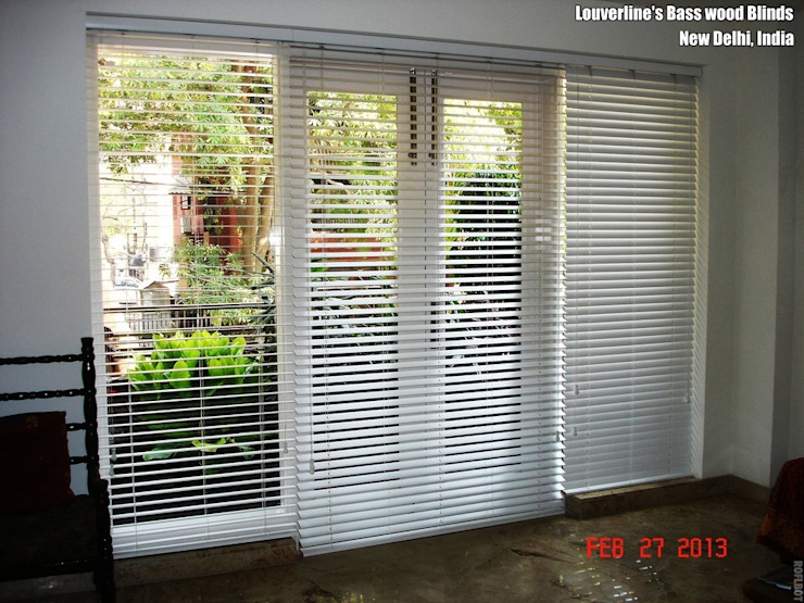 Living room by Louverline Blinds