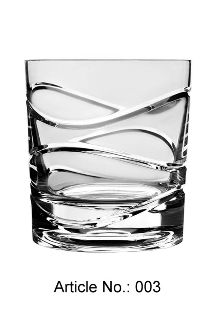 Selbstdrehendes Kristallglas : modern  von Shtox Production ,Modern