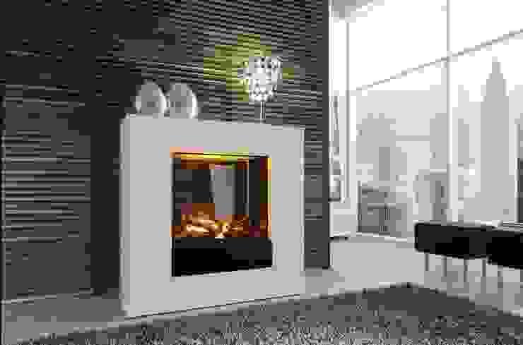 por Kamin-Design GmbH & Co KG Moderno MDF