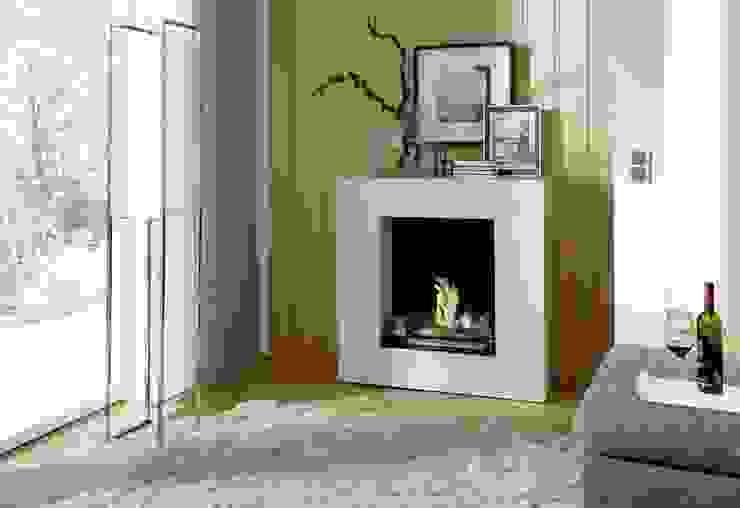 Kamin-Design GmbH & Co KG SalonCheminées & accessoires MDF Blanc