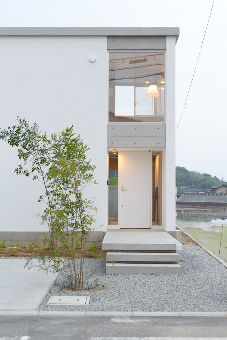 Industrial style houses by 風景のある家.LLC Industrial Concrete
