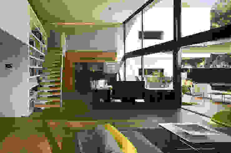 Casa D&E Comedores de estilo moderno de sanahuja&partners Moderno
