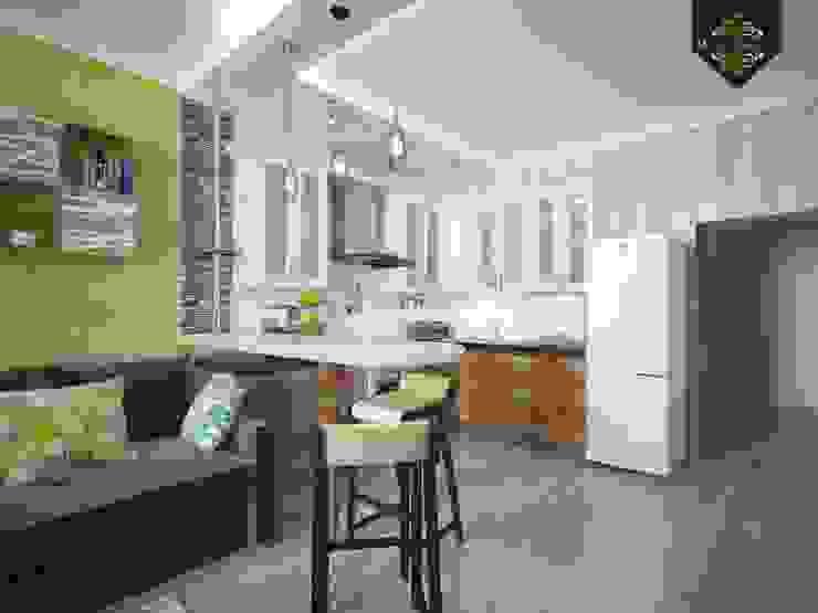 Весенний интерьер Кухни в эклектичном стиле от Decor&Design Эклектичный