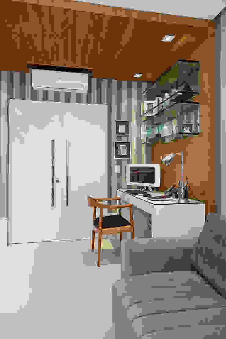Cliente F Escritórios modernos por Link Interiores Moderno