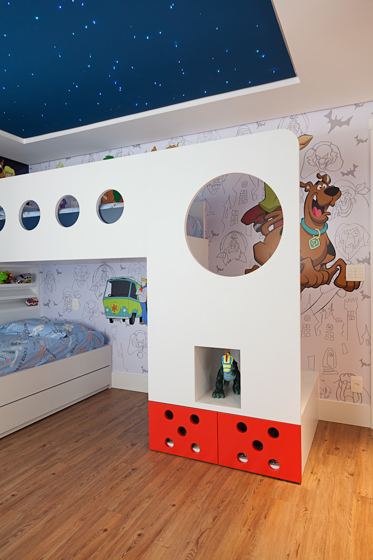 Cliente F Quarto infantil moderno por Link Interiores Moderno