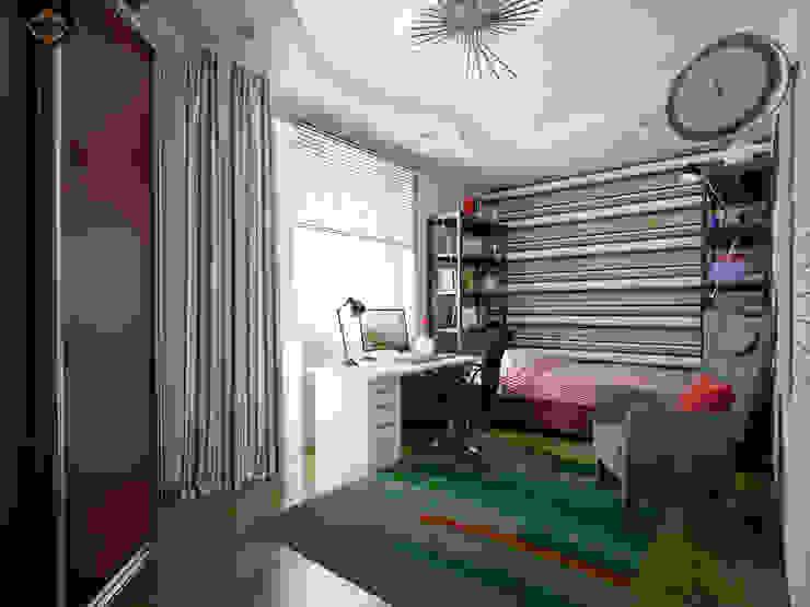 Весенний интерьер Детские комната в эклектичном стиле от Decor&Design Эклектичный