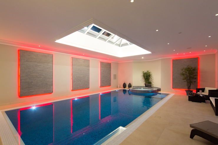 Swimming pool by Flairlight Designs Ltd Modern