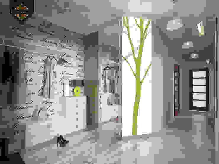 Весенний интерьер Коридор, прихожая и лестница в эклектичном стиле от Decor&Design Эклектичный