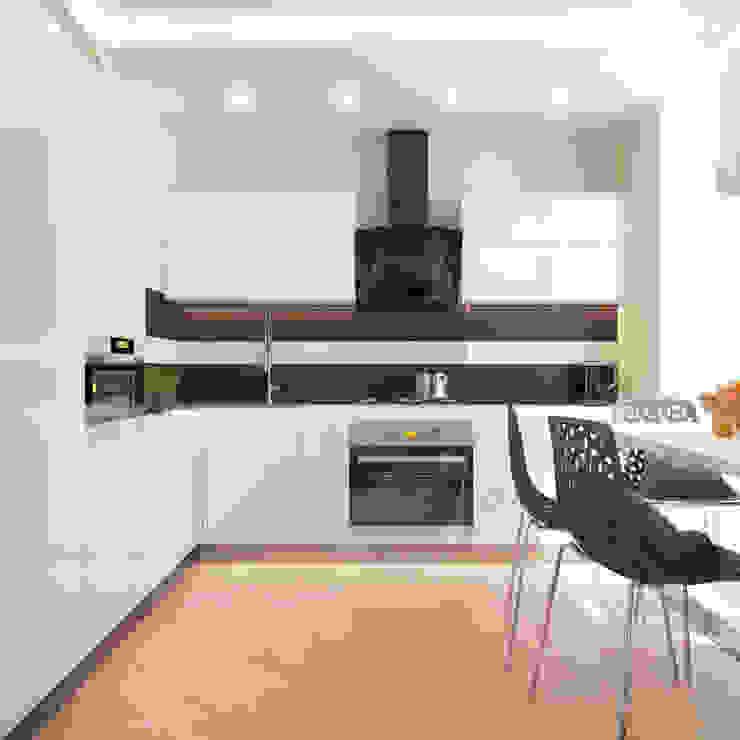 Раздвигаем пространство Кухня в стиле минимализм от 'PRimeART' Минимализм