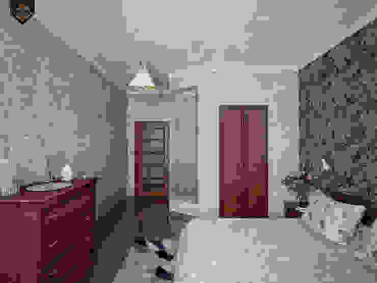 Весенний интерьер Спальня в эклектичном стиле от Decor&Design Эклектичный