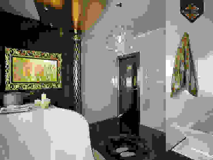 Интерпретация арт-деко Ванная комната в эклектичном стиле от Decor&Design Эклектичный