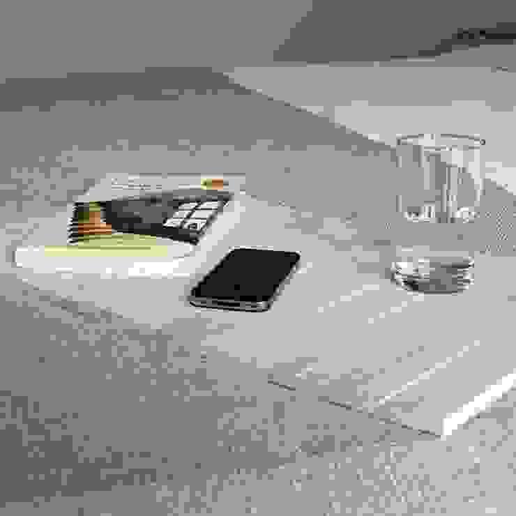 Bandeja flexible de madera - DETRAY WHITE de debosc Moderno