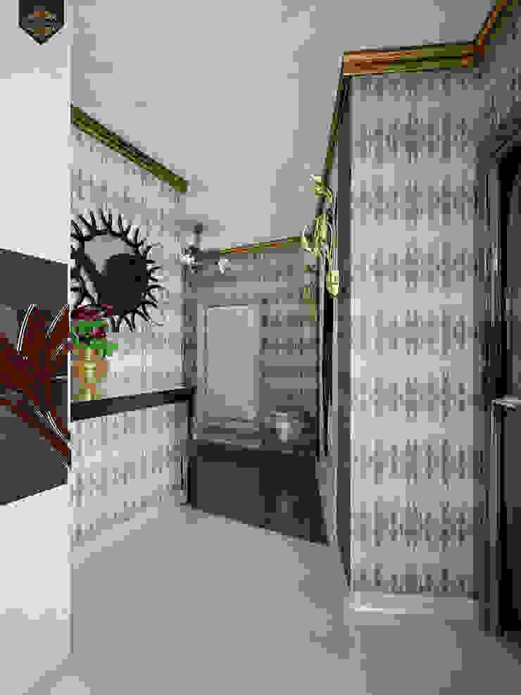 Интерпретация арт-деко Коридор, прихожая и лестница в эклектичном стиле от Decor&Design Эклектичный