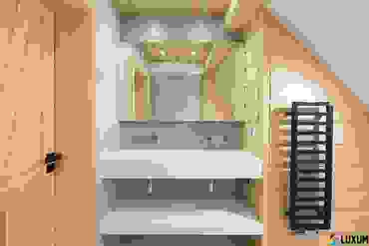 Podwójna umywalka od Luxum Nowoczesna łazienka od Luxum Nowoczesny