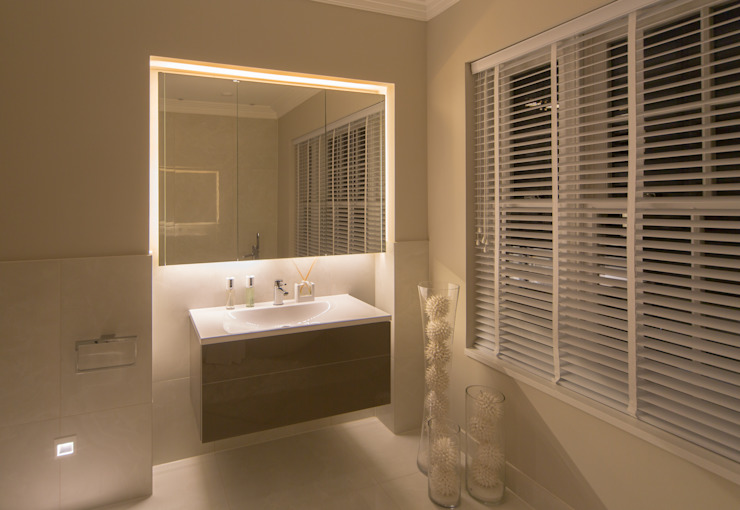 Flairlight Project 1 Oxshott, Tudor House Modern bathroom by Flairlight Designs Ltd Modern