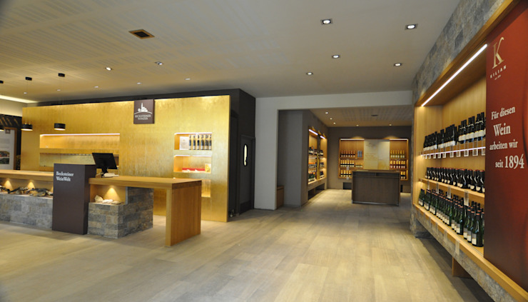 Becksteiner Weinwelten Teil 1 + 2 Weinkeller von Luisa Ballmann Innenarchitektur + Design